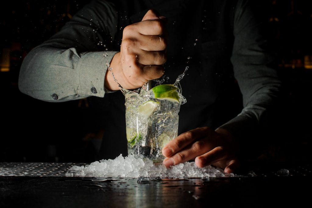 preparare il ghiaccio