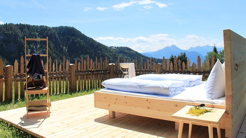Star beds, Hotel Hohenwart