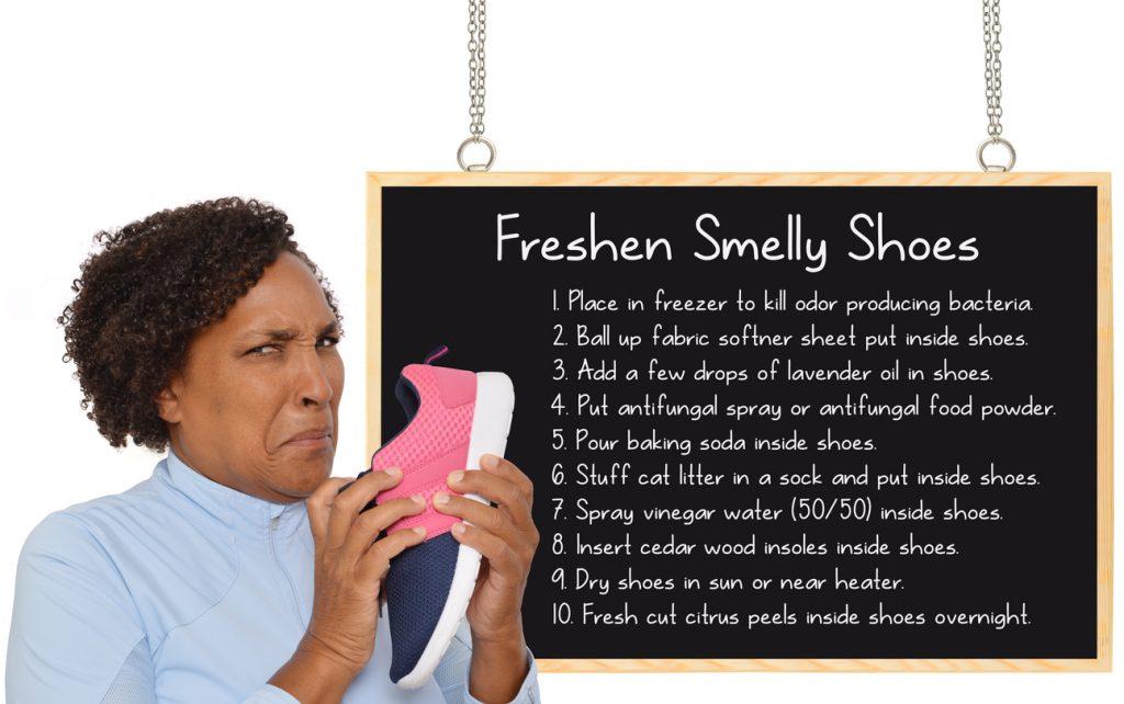 Come rendere le sneakers fresche e profumate