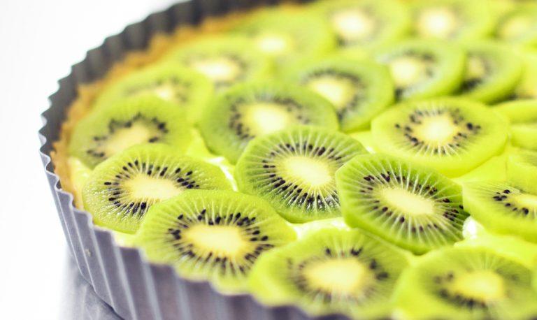 Dolce alla crema di kiwi