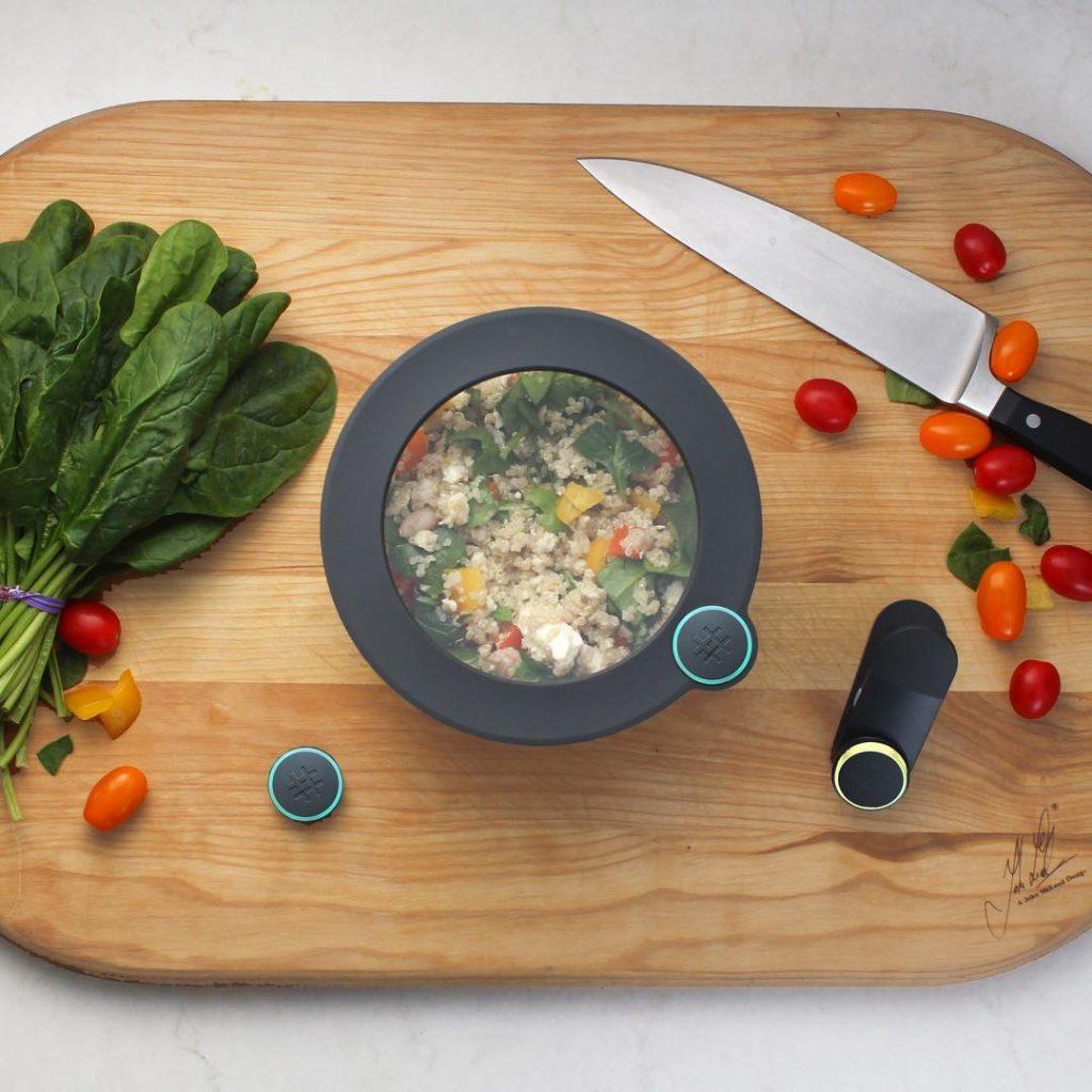 Contenitori intelligenti contro lo spreco di cibo