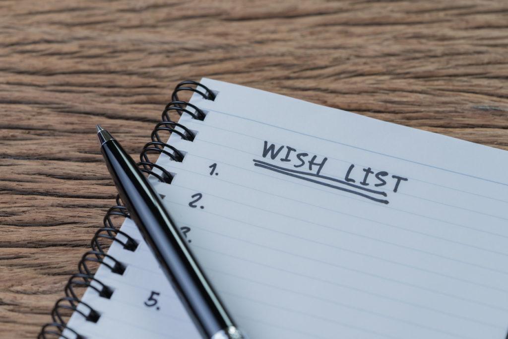 Wish list, come sopravvivere alla sindrome da rientro