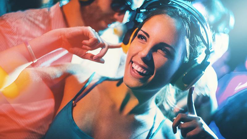 Silent disco, la nuova frontiera del divertimento