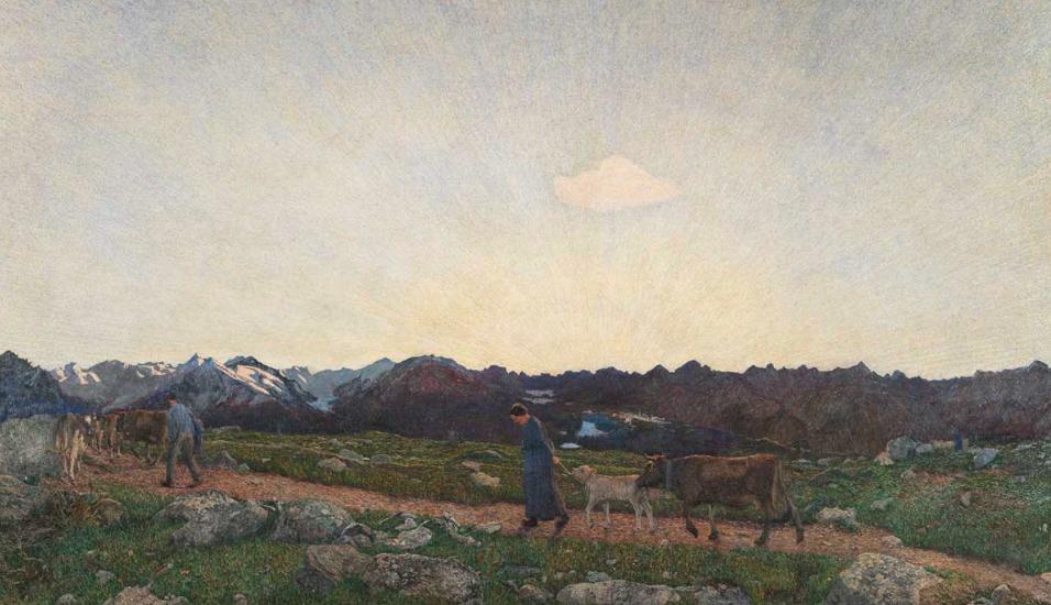 """Il sublime """"sentimento di montagna"""" in mostra a Lugano"""