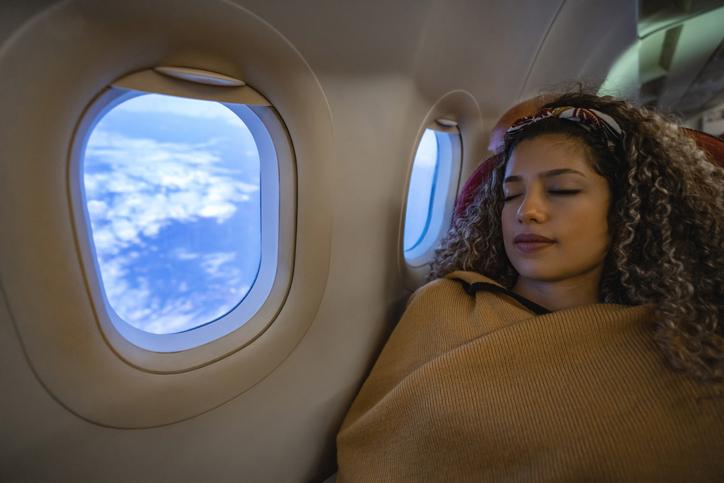 prendere sonno in volo