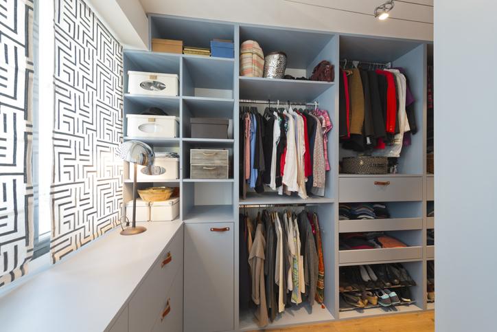 Come organizzare perfettamente il guardaroba