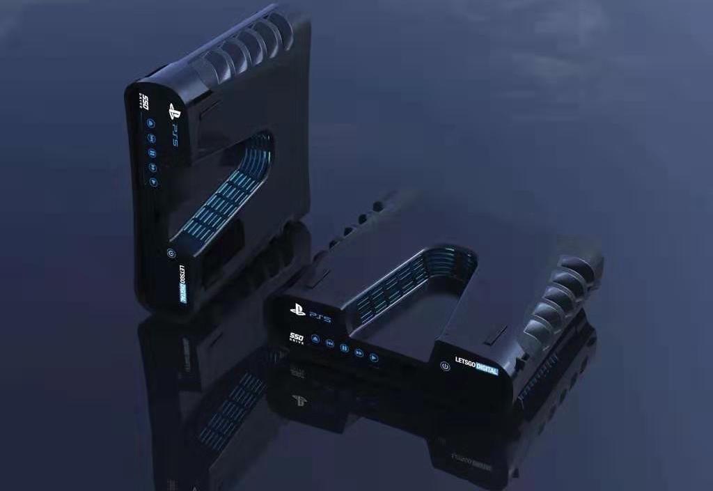 Le prime immagini della nuova PS5, in vendita nel 2020