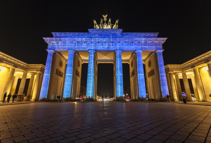 Il Festival delle Luci illumina Berlino