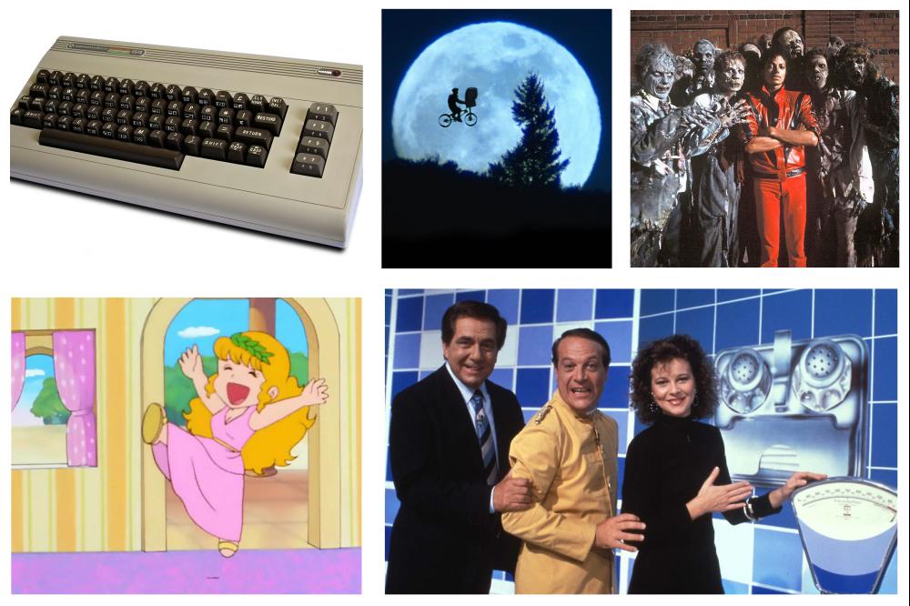 Correva l'anno 1982, cinque fenomeni pop da ricordare