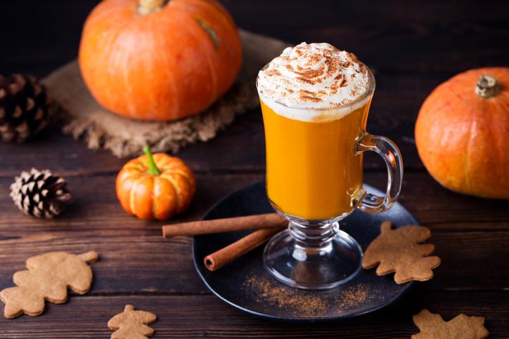 Pumpkin latte, la bevanda che riscalda l'inverno