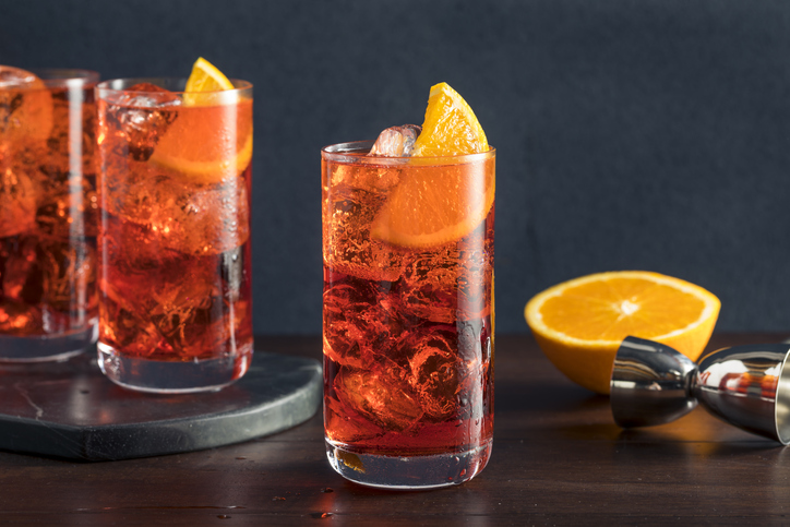 cocktail rossi e Campari