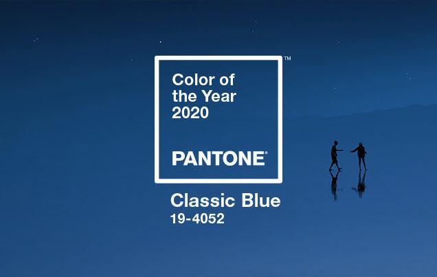 Classic Blue, come indossare il colore dell'anno 2020