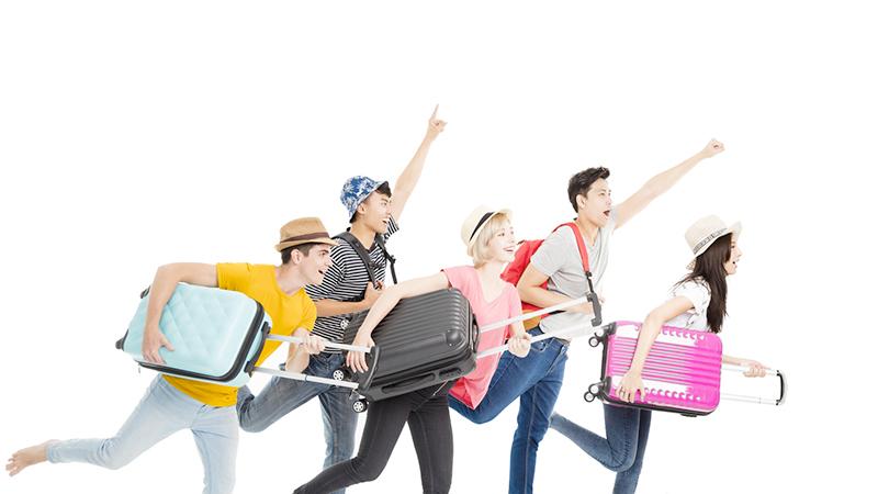 Basta trascinarsi la valigia in viaggio: un'app ti salverà
