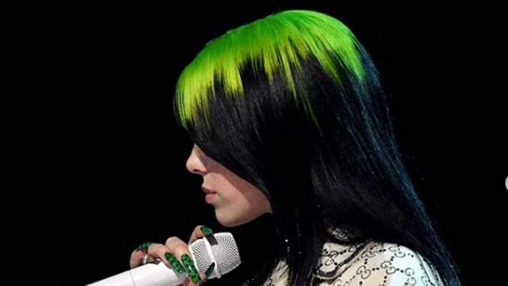 Capelli come Billie Eilish: bicolore per farsi notare