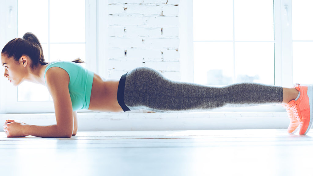 come fare un plank perfetto