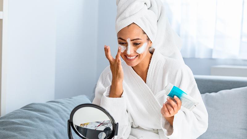 skincare routine primaverile