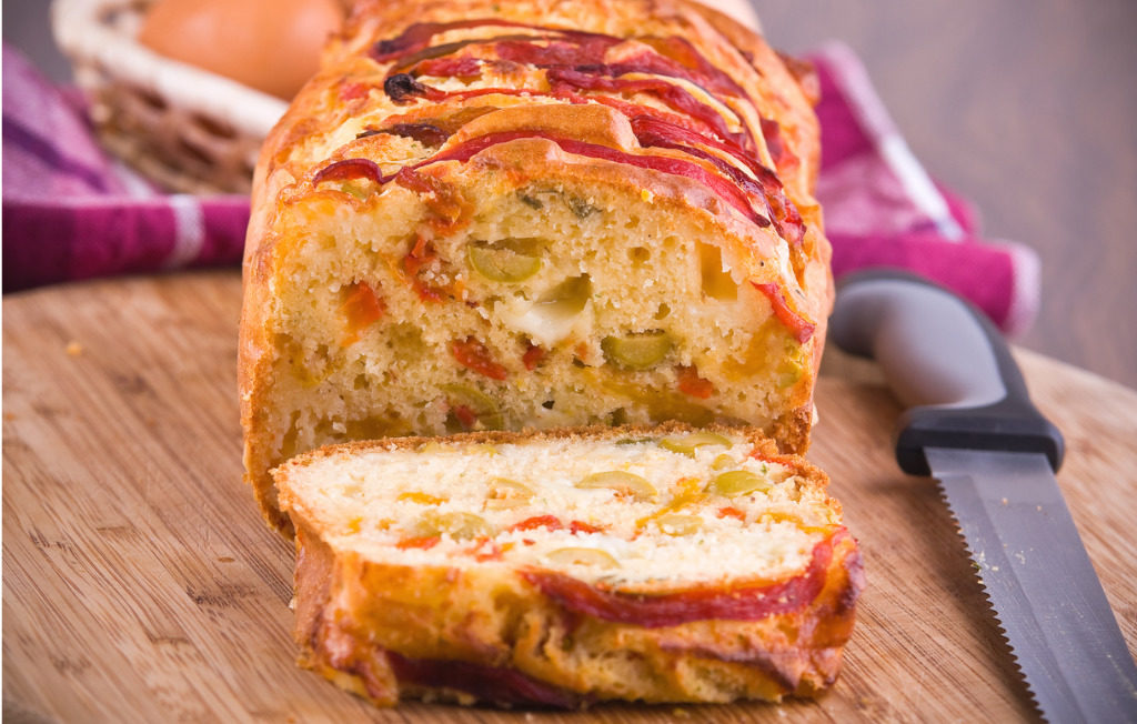 Alternative al pane: il plumcake salato alle verdure