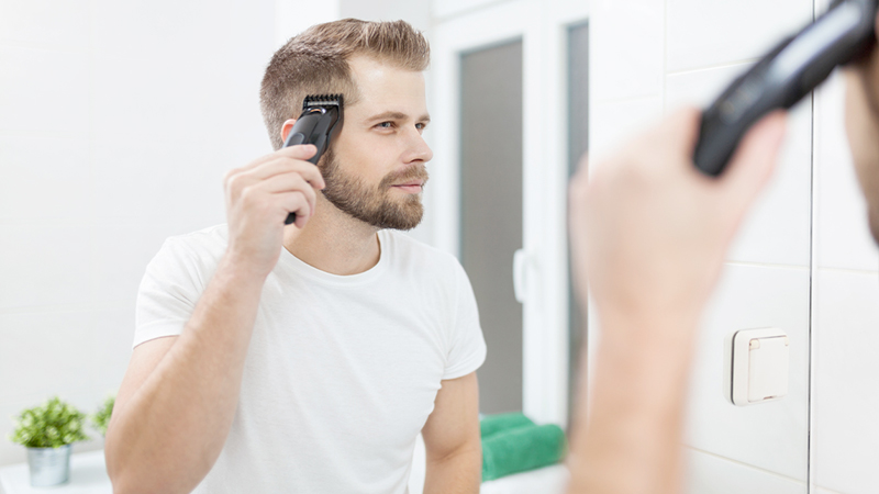 Beauty routine maschile