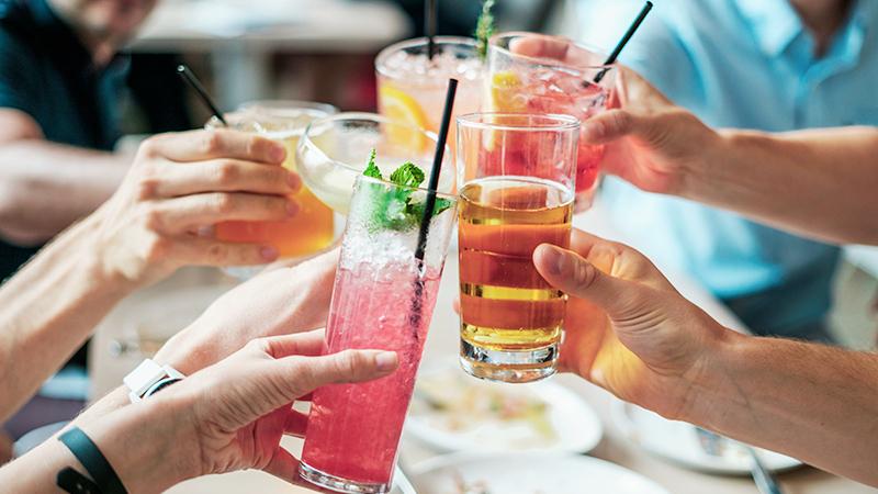 Cocktails instagrammabili