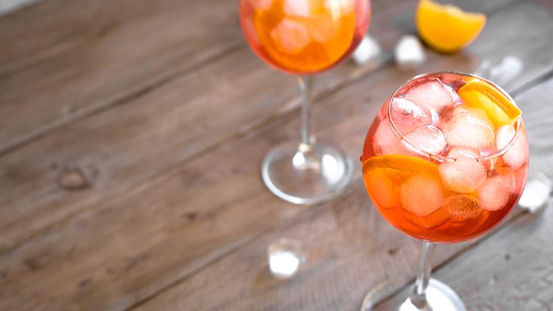 Cocktails instagrammabili, aperol spritz