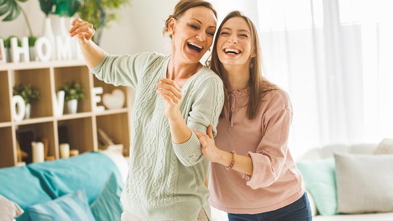 festa della mamma, ballare