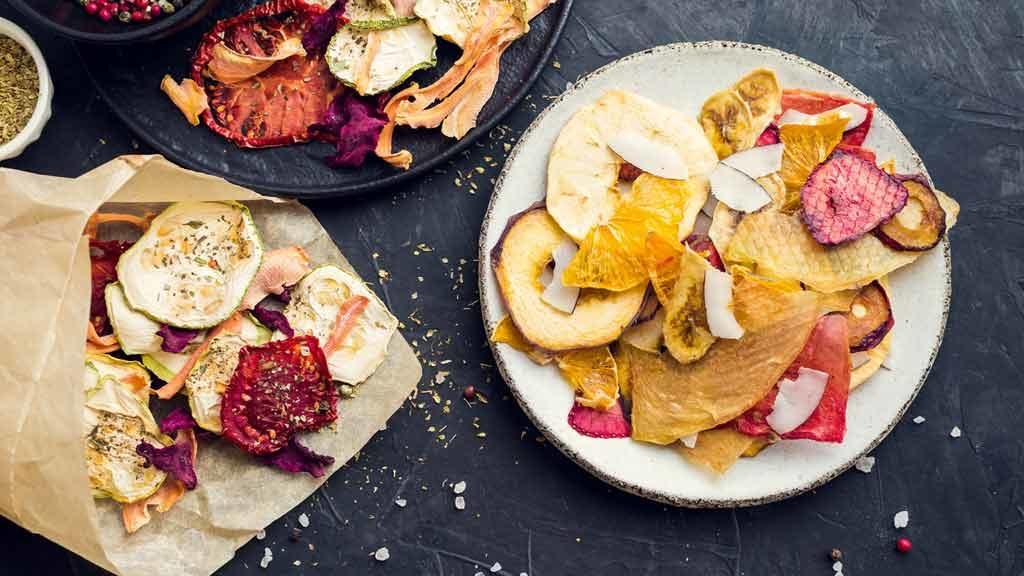 Come preparare un aperitivo sano con le chips