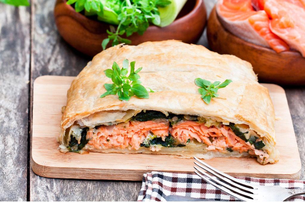 Salmone in crosta, un piatto ricco e saporito