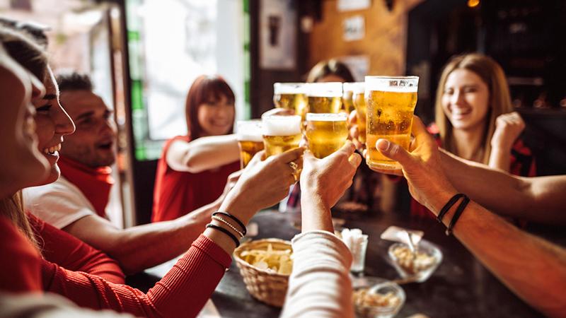 birra, amici