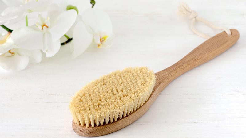 dry brushing spazzola
