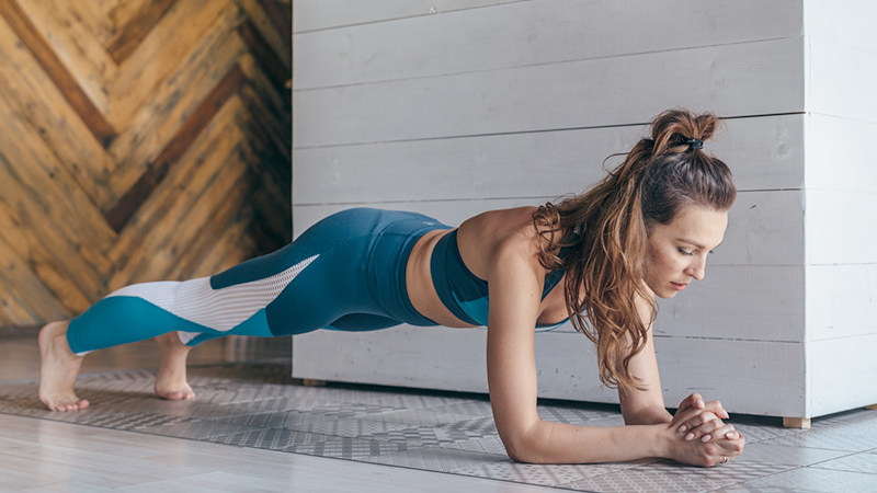 workout over 40, plank