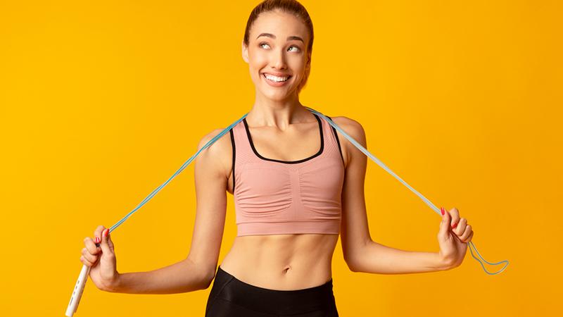 Salto della corda, l'allenamento che diverte