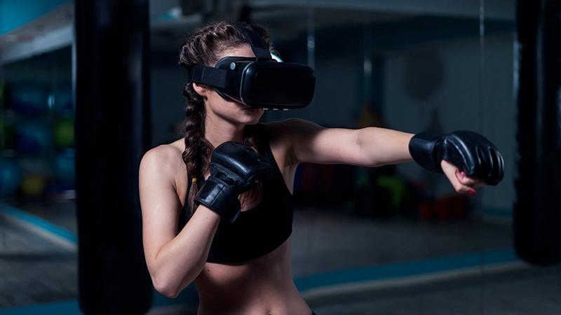 Exergames, boxer
