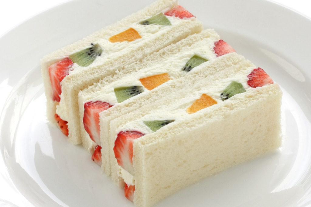 sandwich alla frutta