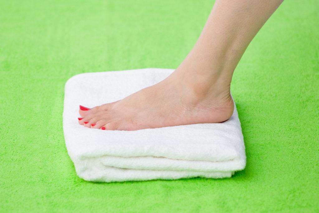 trattamento piedi