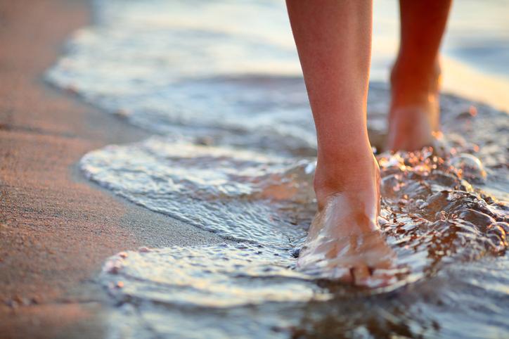 Camminare in acqua