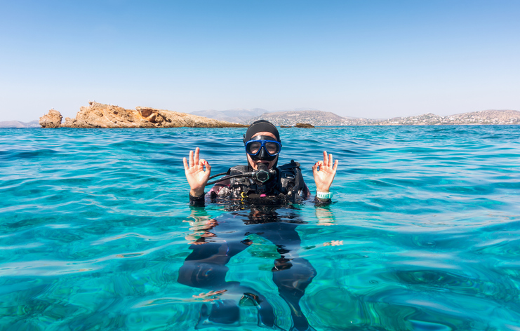 sub in acqua