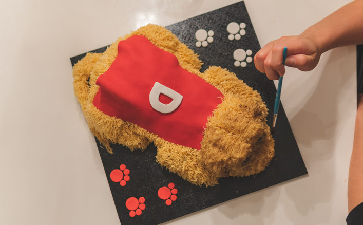 torta tridimensionale