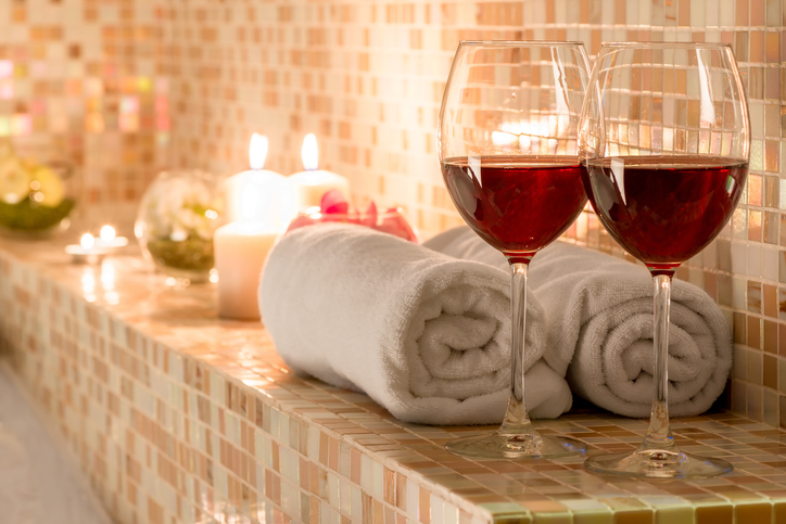 Bellezza settembrina, i trattamenti al vino