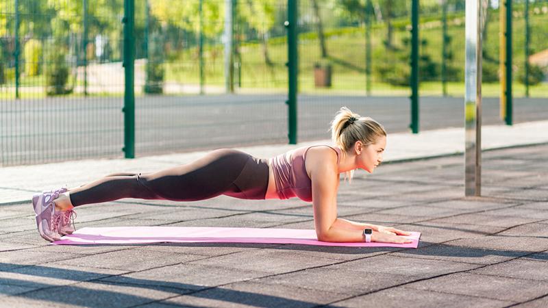 vacanza sport friendly, plank