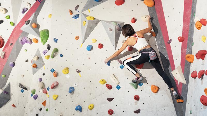 arrampicata indoor