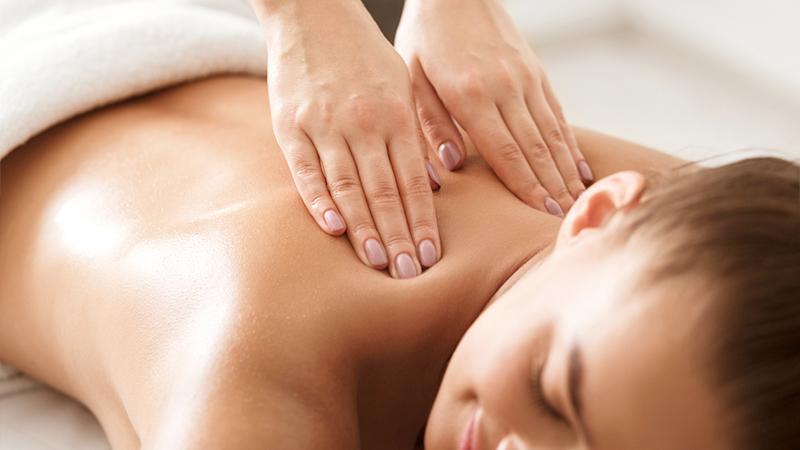 massaggio alla schieda